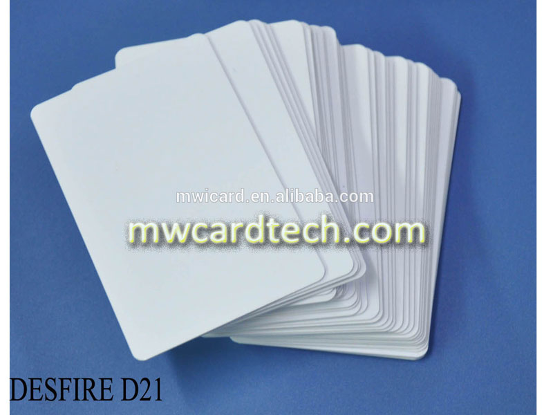ISO 18000-6C EPC GEN2 Plastic UHF Card for parking management