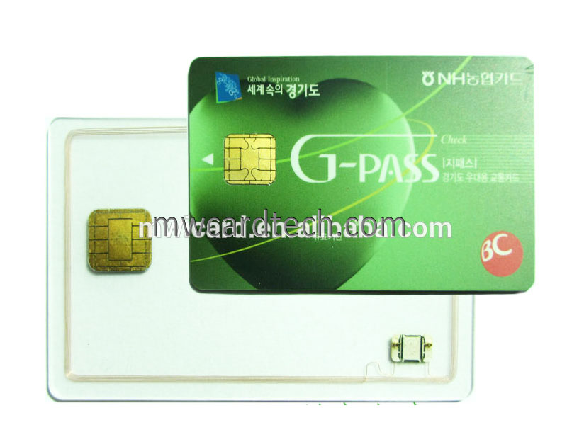 125khz rfid card with magnetic strip card