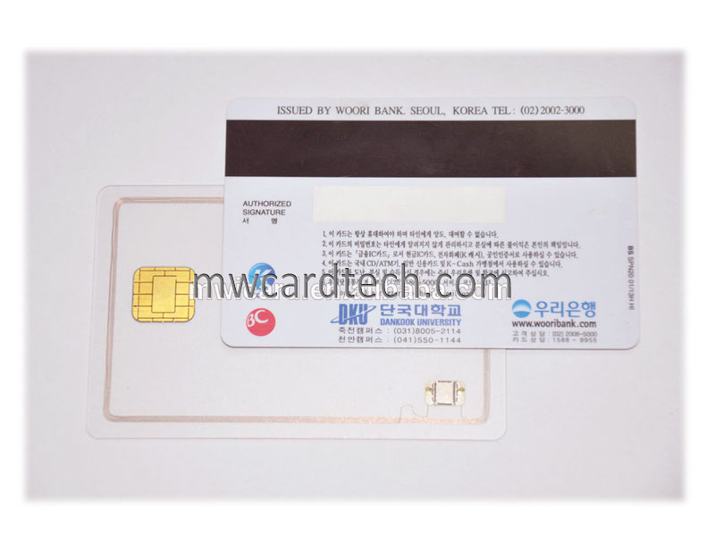 13.56MHz Compatible 1K F08 Magnetic Card