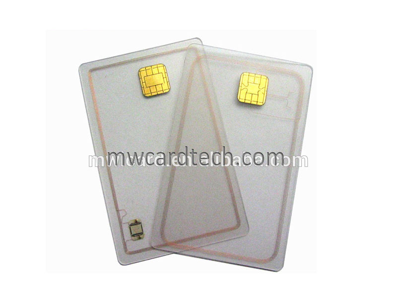 S50 and contact chip card