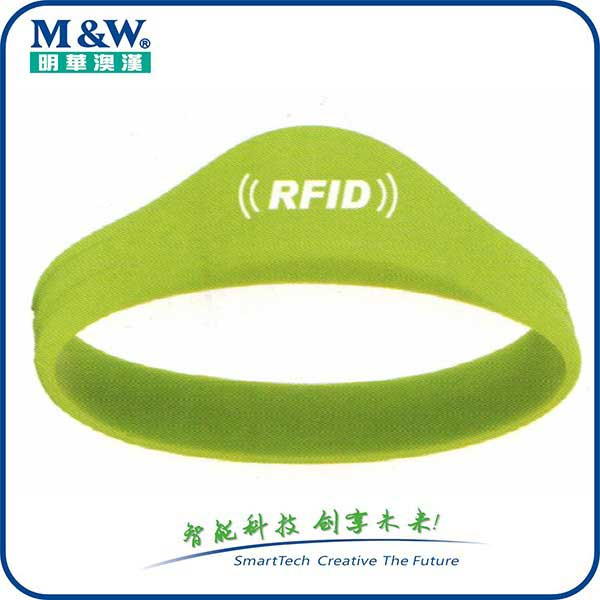 Silicone Wristbands- MWG1704 Series -RFID card