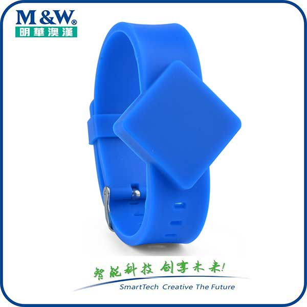 Silicone Wristbands- MWG1710 RFID card