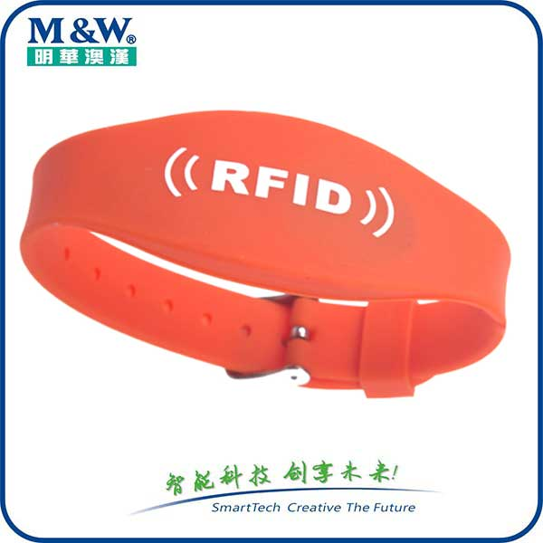 Silicone Wristbands- MWG1711 RFID card