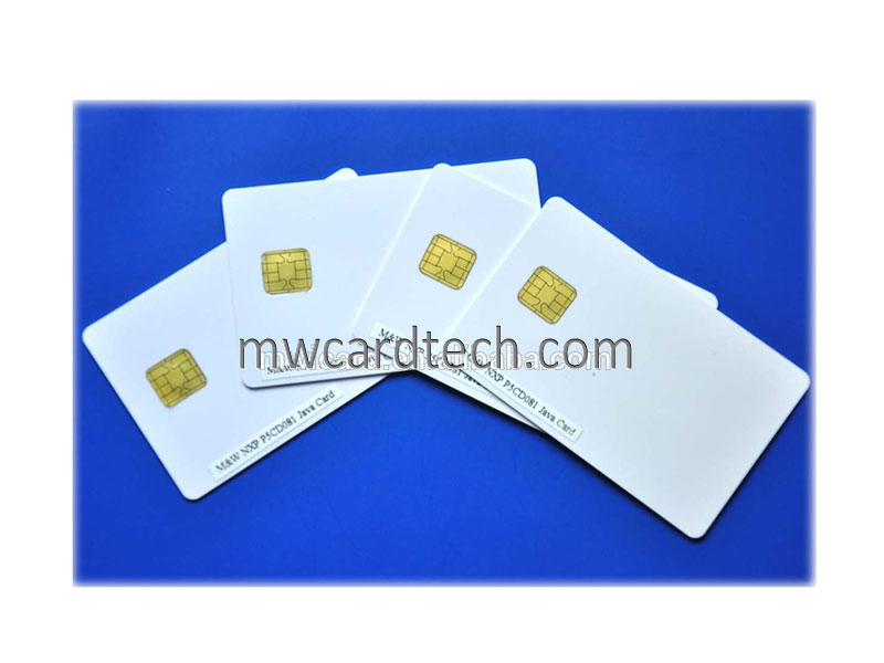 Plastic Contact Java Cards with Chip JCOP 3.0.4