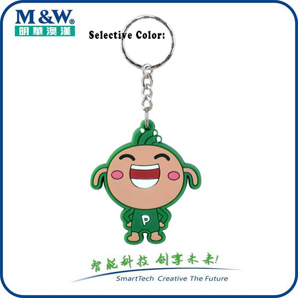 Soft PVC Key Fobs -Doll- MWK1701 - RFID