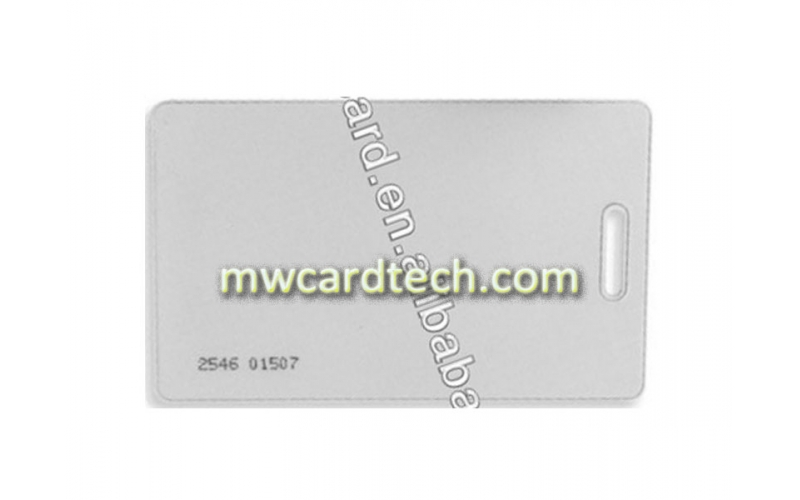 Cheap Price Rewritable Contactless Blank/White/Plain RFID Card