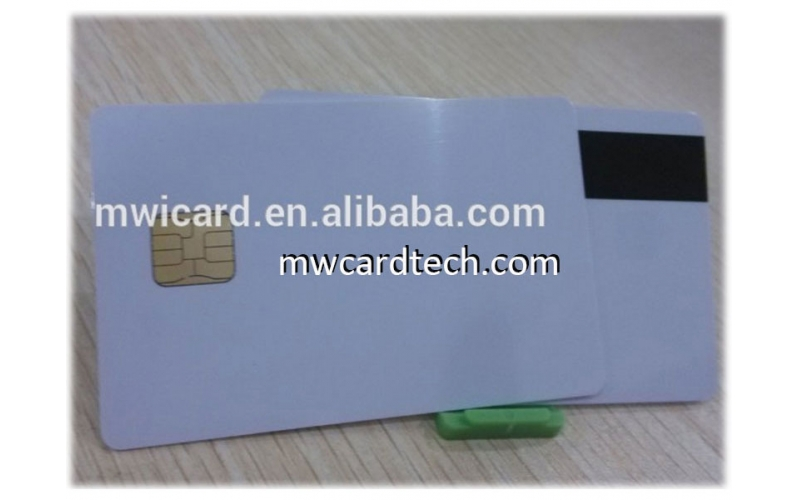 Factory price contact/contactless blank smart card