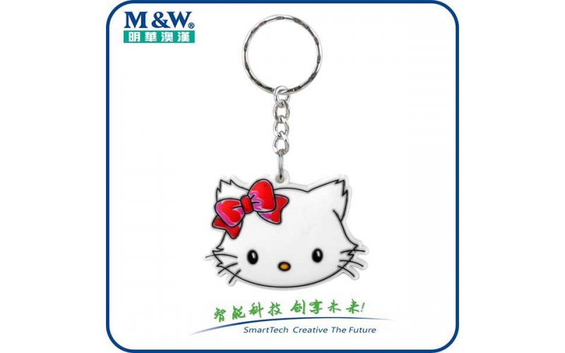 Soft PVC Key Fobs -Cat- MWK1702 - RFID