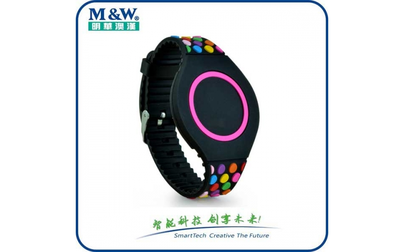 Multicolour Silicone Wristbands MWGD1702 RFID card